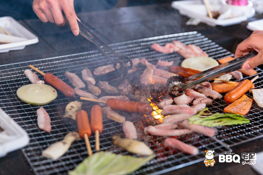 羽衣BBQガーデンお肉