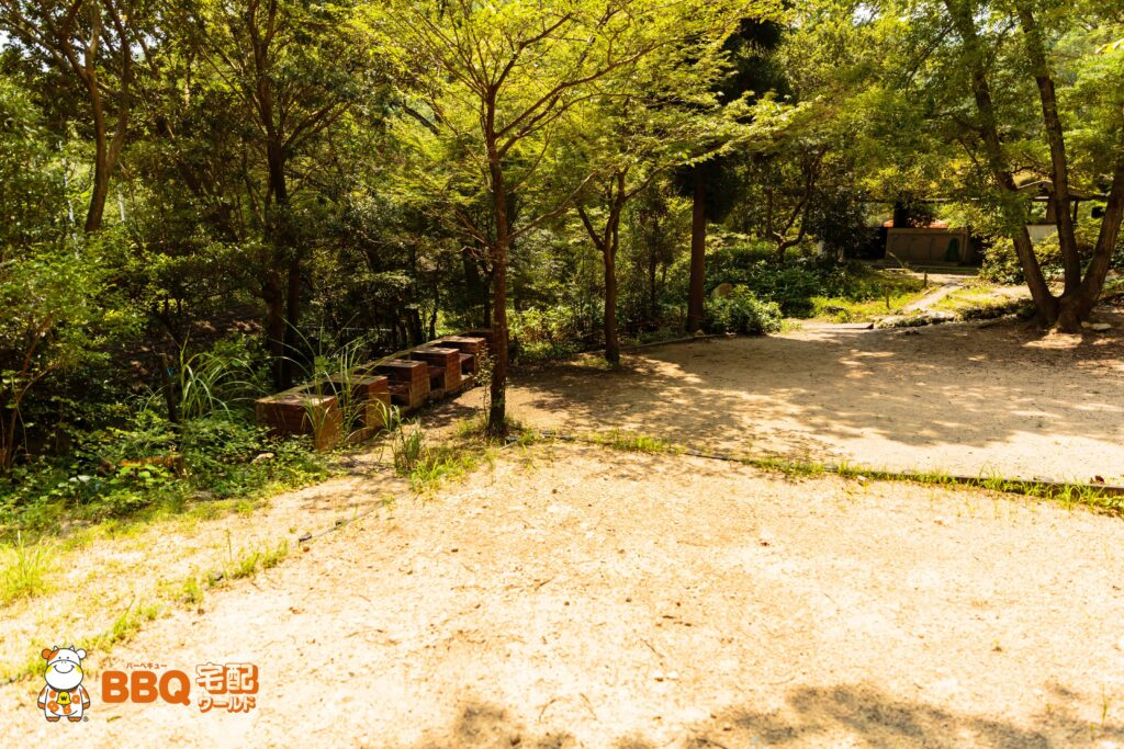 社家郷山キャンプ場Aサイト1