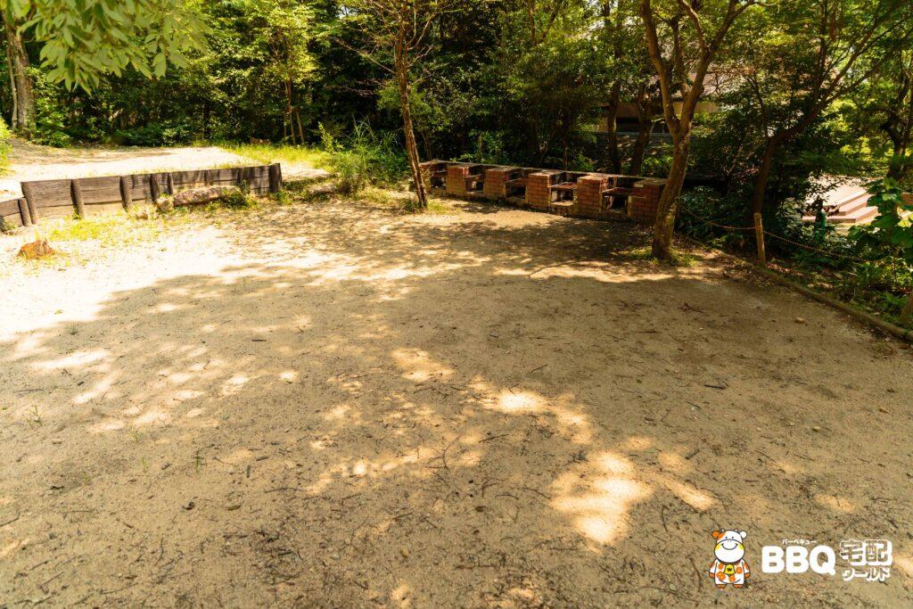 社家郷山キャンプ場Aサイト2