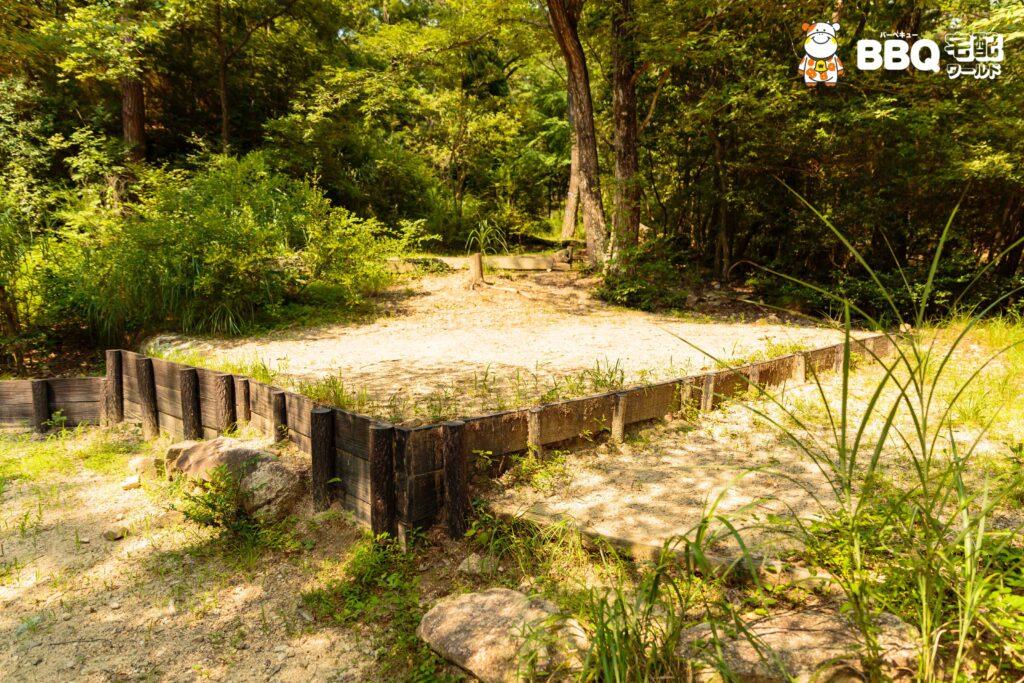社家郷山キャンプ場Aサイト3