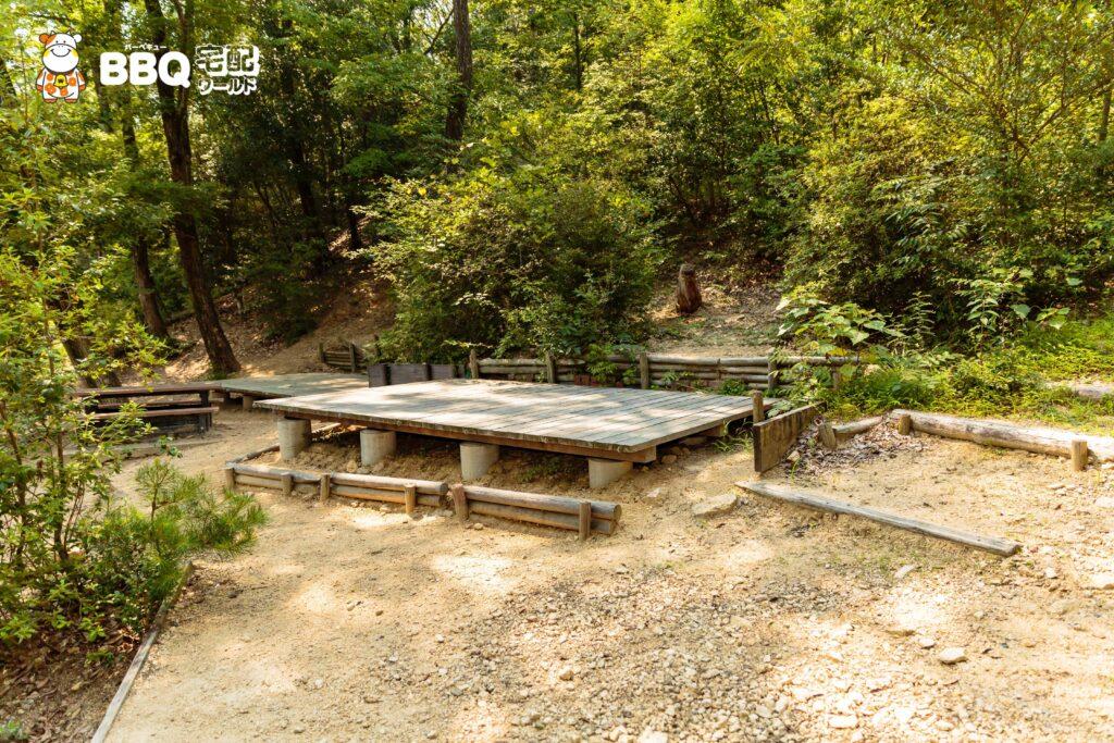 社家郷山キャンプ場Bサイト2