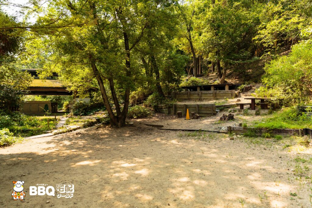 社家郷山キャンプ場Bサイト5