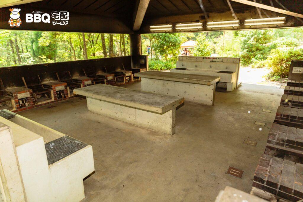 社家郷山キャンプ場炊飯棟3