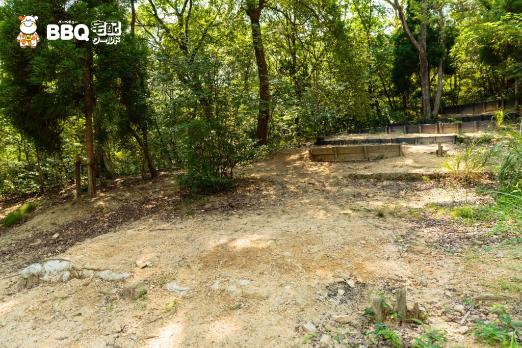 社家郷山キャンプ場Cサイト2