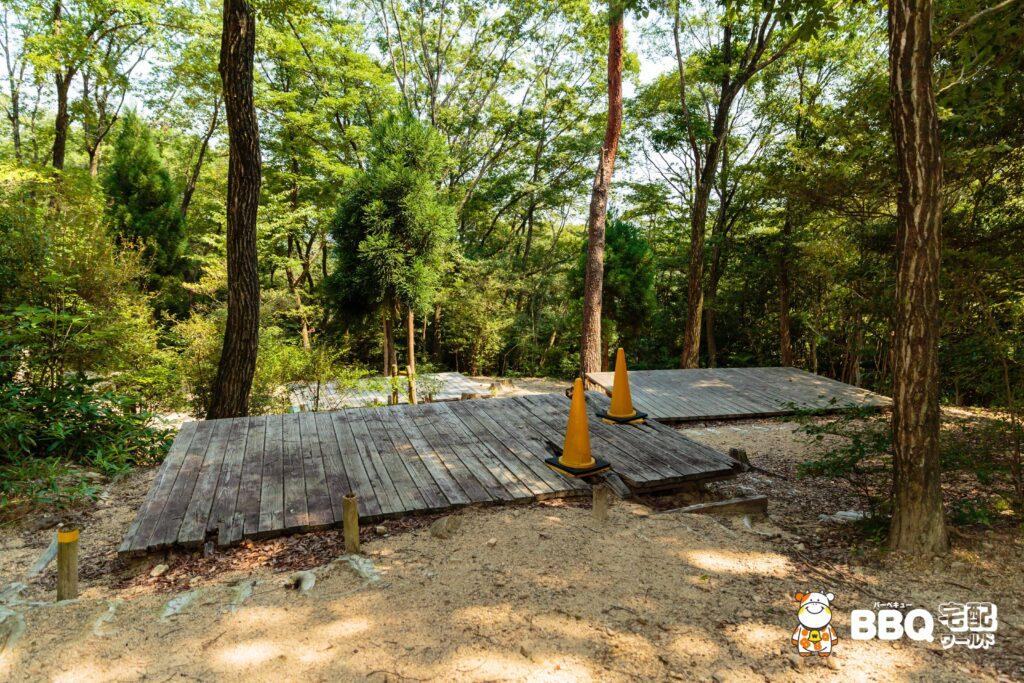 社家郷山キャンプ場Cサイト3