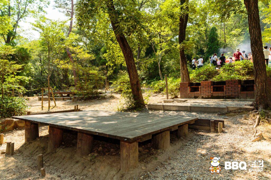 社家郷山キャンプ場Cサイト4