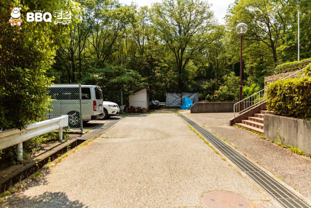 社家郷山キャンプ場駐車場