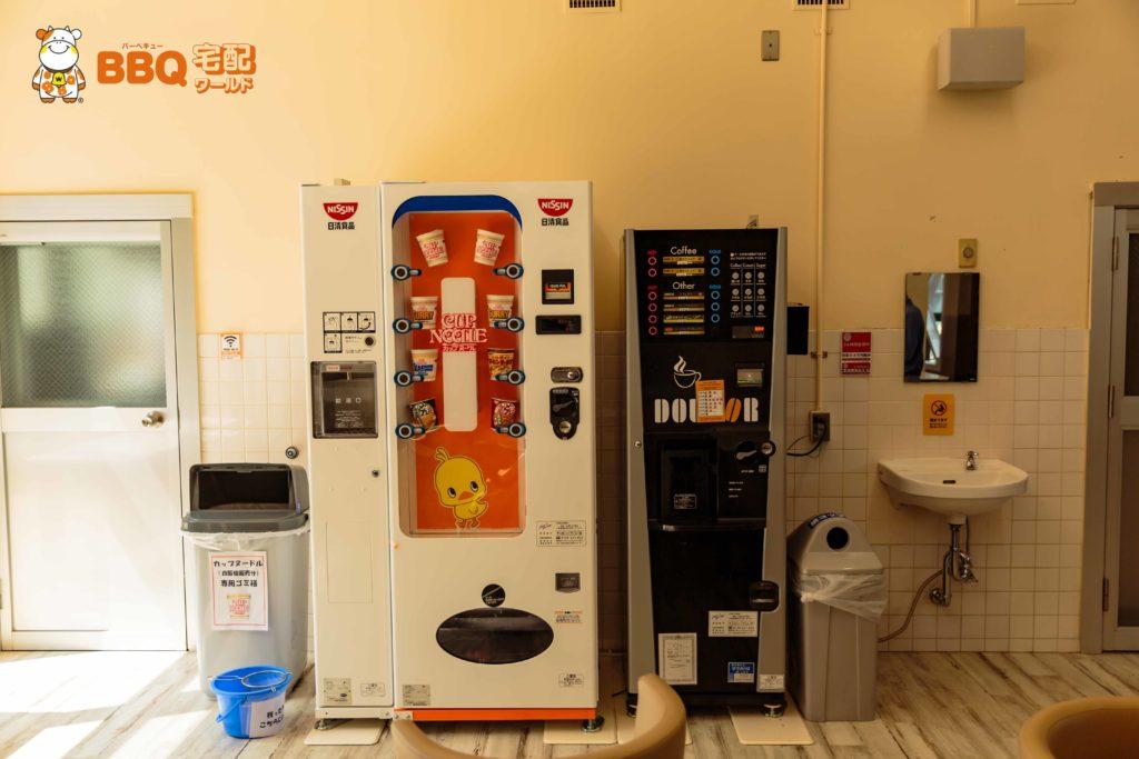 アクティブスクエア大東の自動販売機