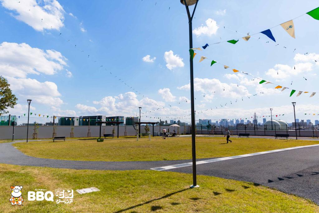 庄内グリーンスポーツセンターBBQエリア1