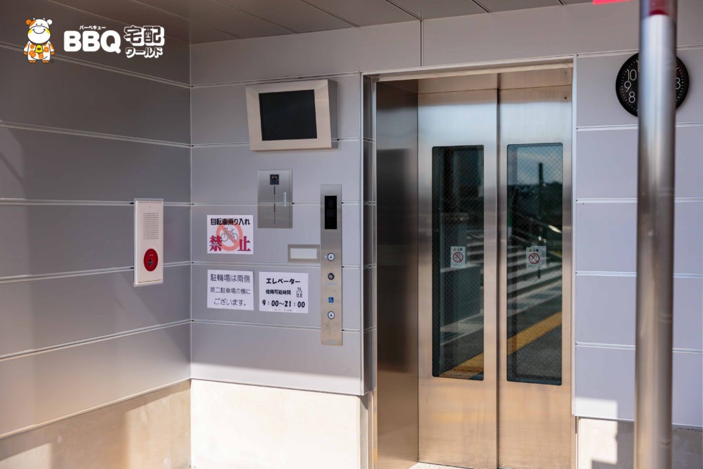 庄内グリーンスポーツセンターエレベーター2