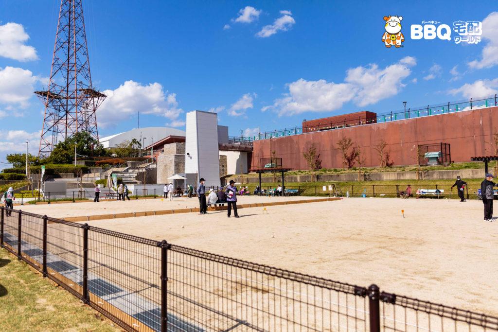 庄内グリーンスポーツセンターゲートボール1