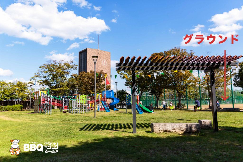 庄内グリーンスポーツセンターちびっこ広場1