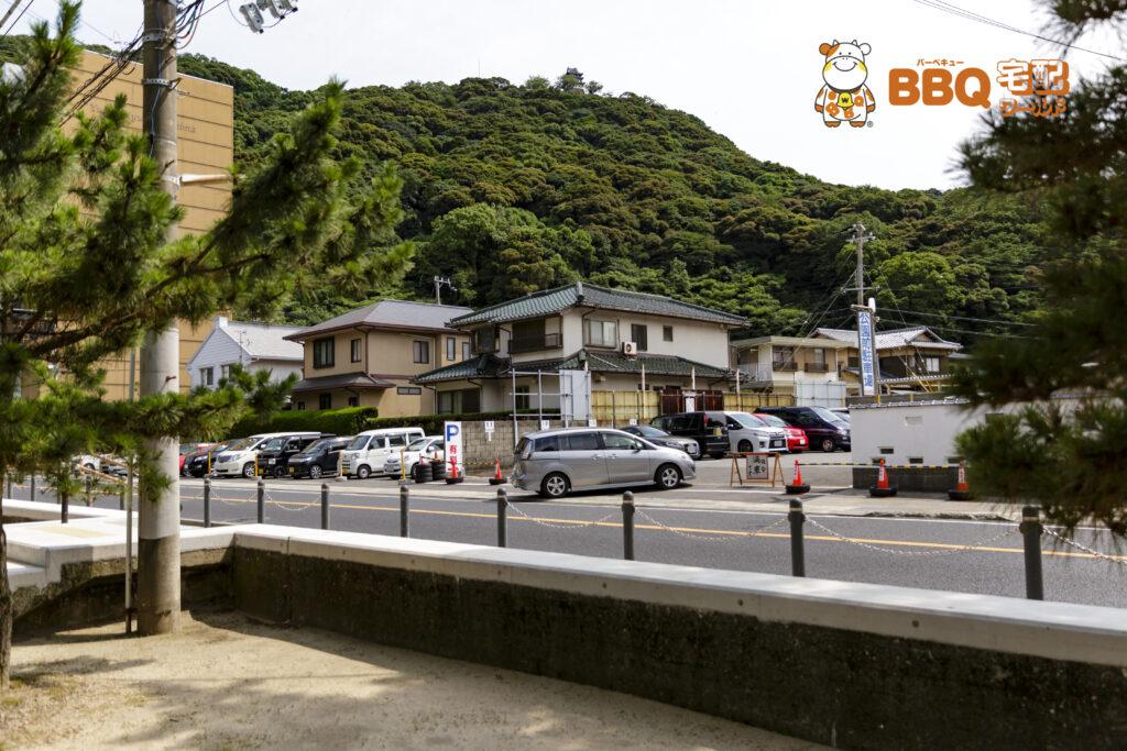 大浜海水浴場民間駐車場