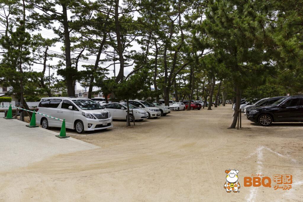 大浜海水浴場北駐車場