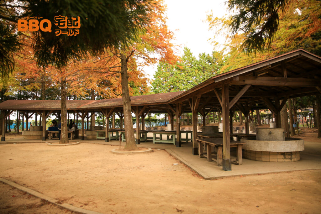 稲美町野外活動センターBBQ調理場