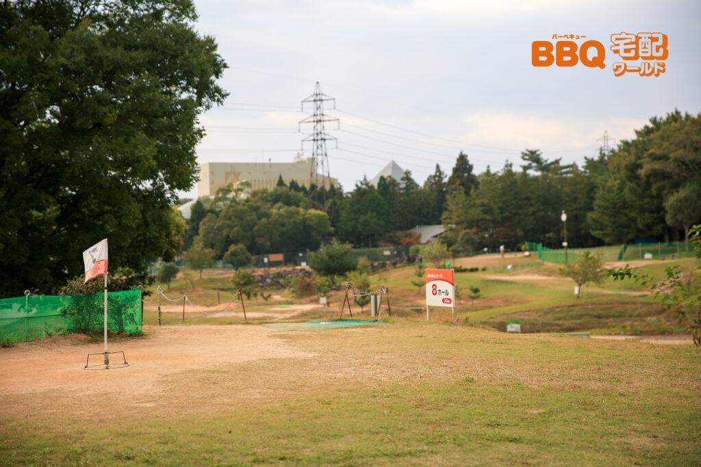 稲美町野外活動センターのグラウンドゴルフ場