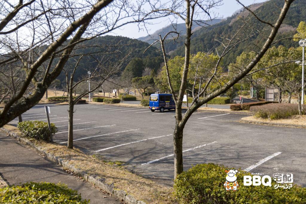 葛城山麓公園展望駐車場