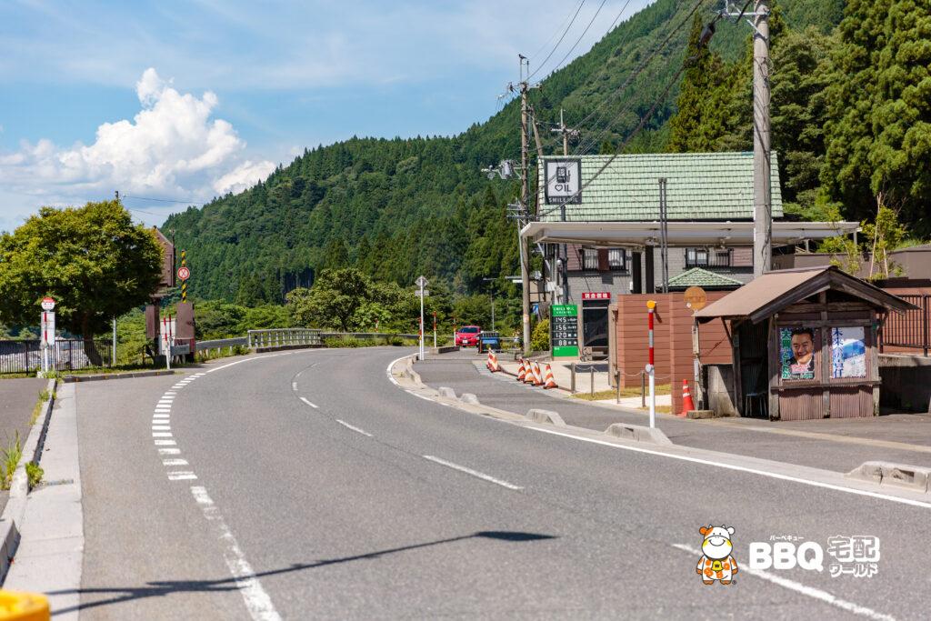 梅ノ木キャンプ場のバス停