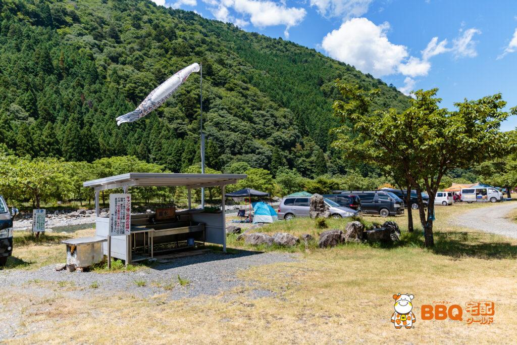 梅ノ木キャンプ場の炊事場