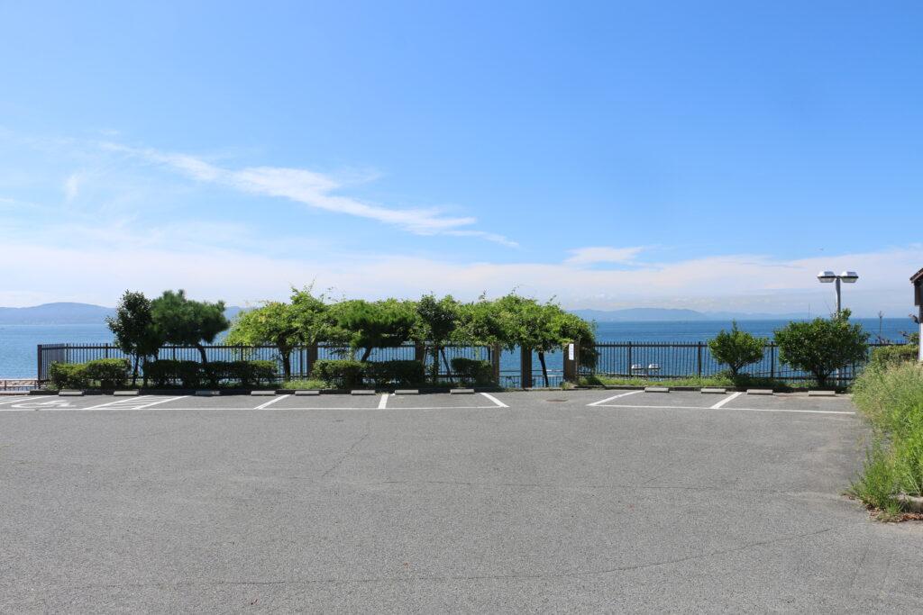 江井ヶ島海岸BBQエリア有料駐車場