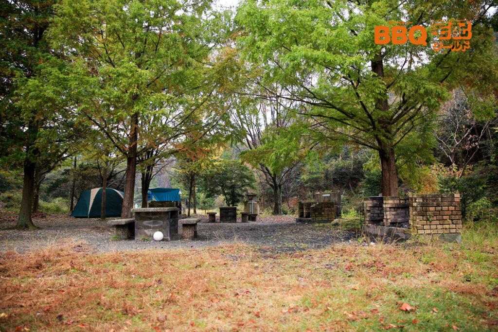 古法華自然公園のBBQサイト