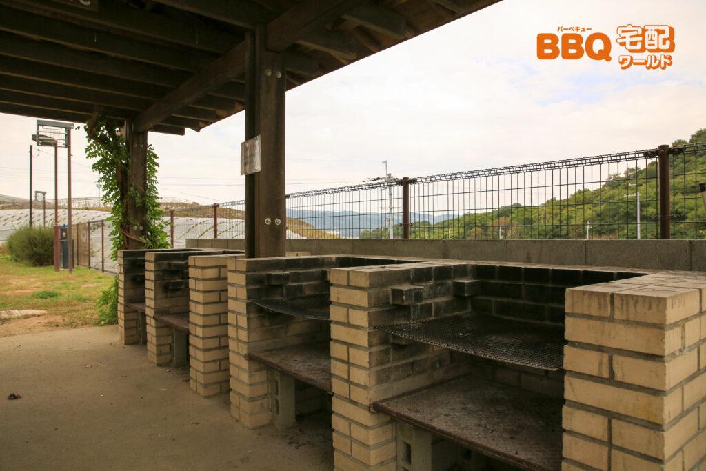 グレープヒル公園BBQ広場の炉