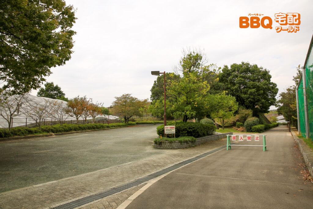 グレープヒル公園の第2駐車場