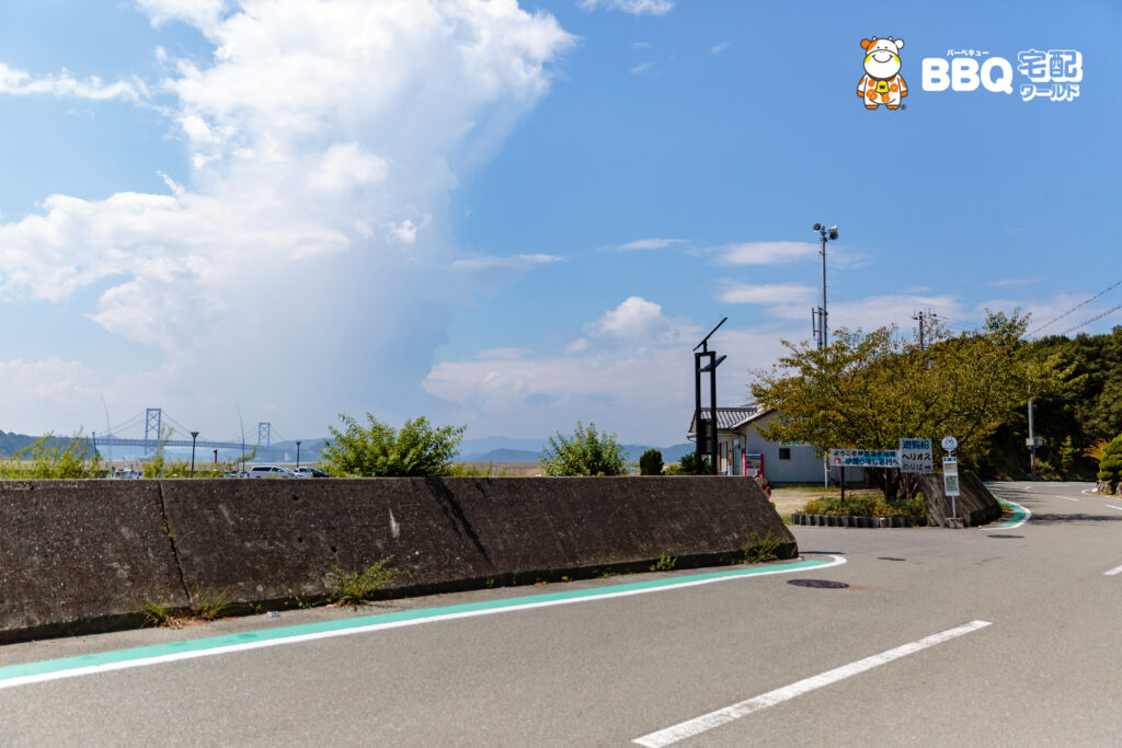 伊毘うずしお村キャンプ場へのアクセス1