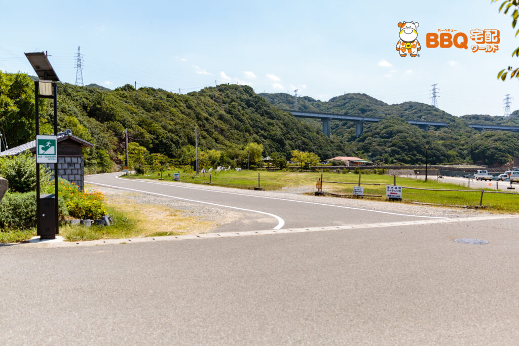 伊毘うずしお村キャンプ場へのアクセス3