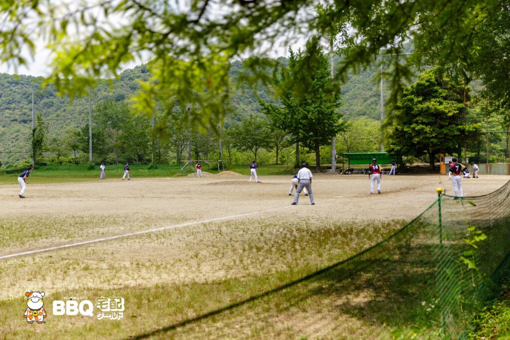 志方東公園の多目的グラウンド
