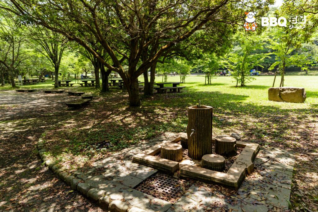 志方東公園BBQ場の水道
