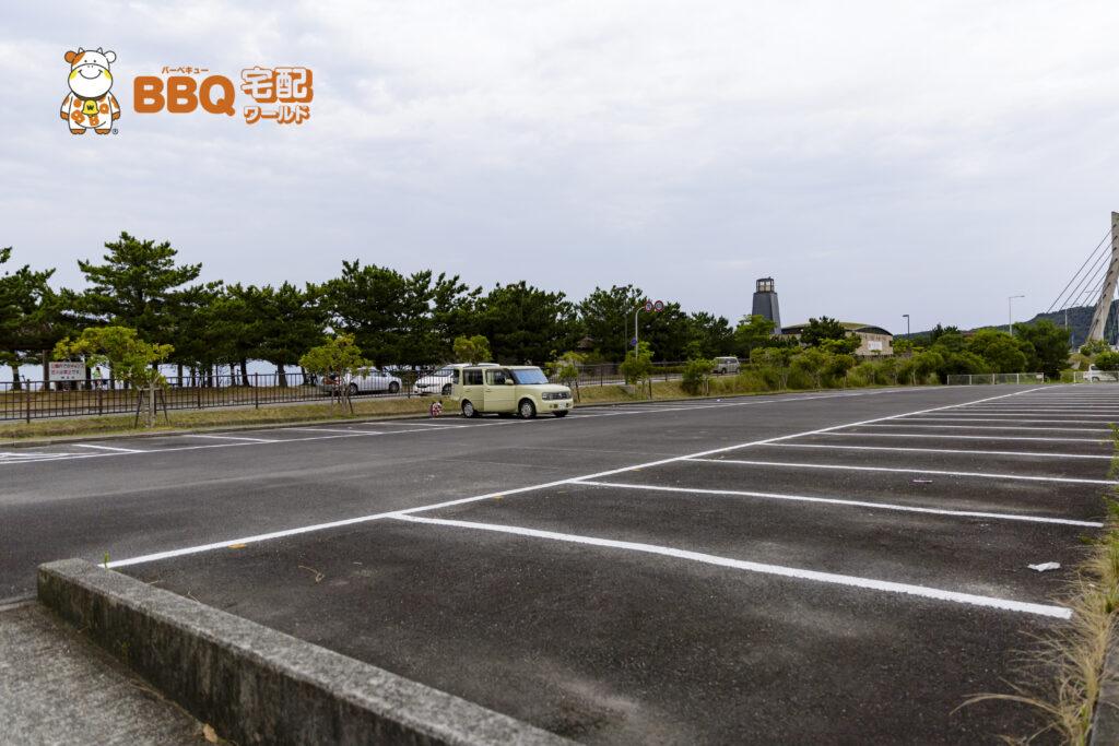 淡路島・炬口海水浴場駐車場