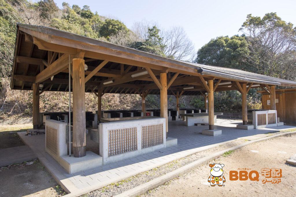 熊取町野外活動ふれあい広場の炊飯棟