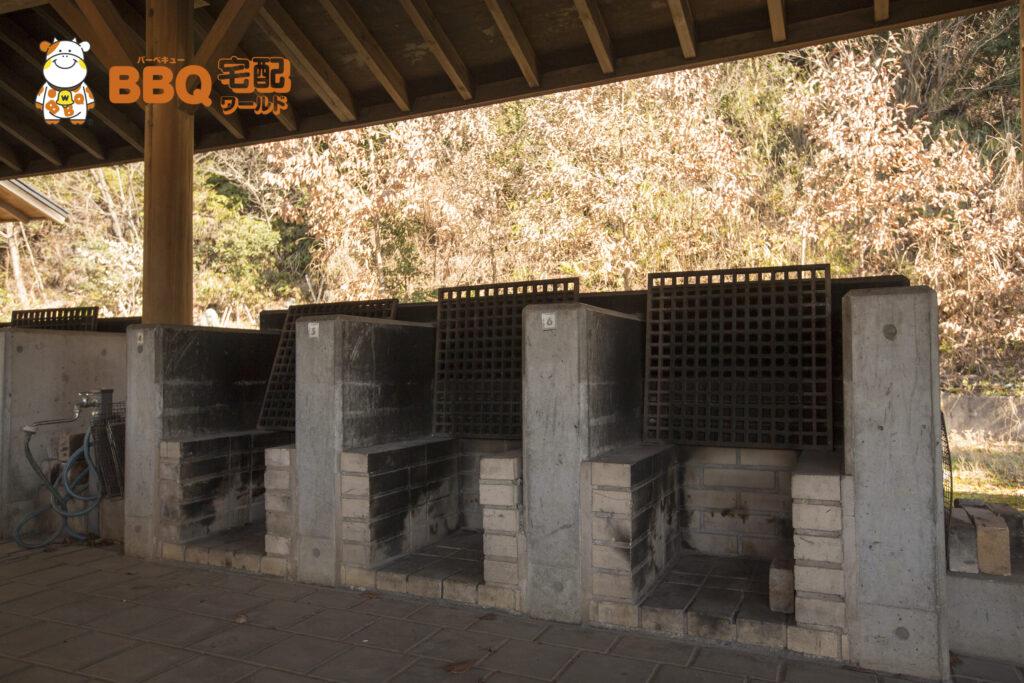 熊取町野外活動ふれあい広場の野外炉