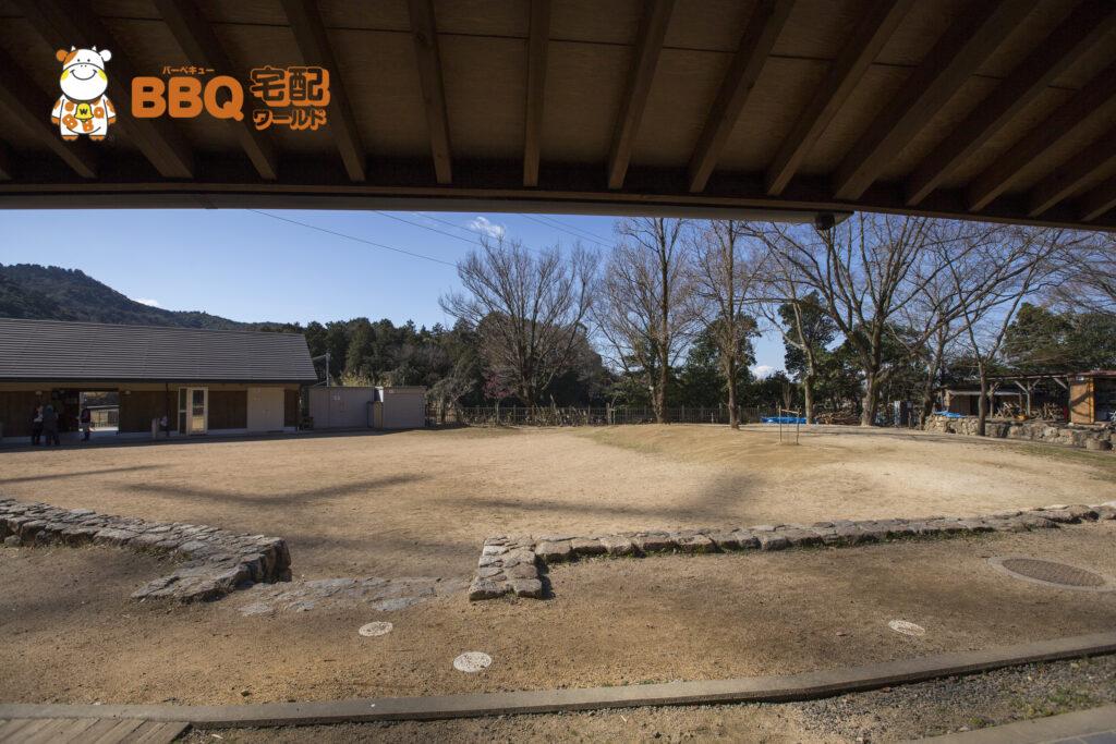 熊取町野外活動ふれあい広場の全景