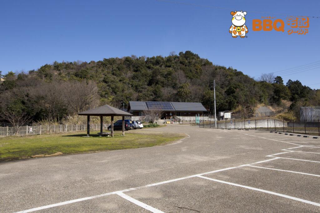 熊取町野外活動ふれあい広場の駐車場