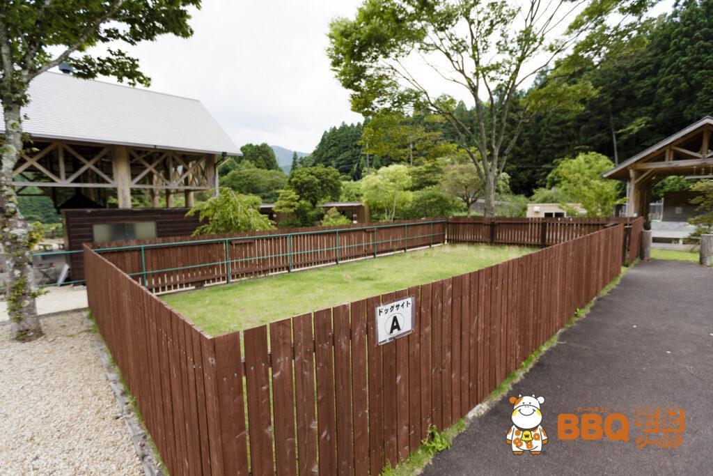 千枚田オートキャンプ場ドッグサイト