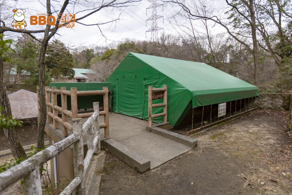 枚方市野外活動センター第2キャンプ場カシオペア