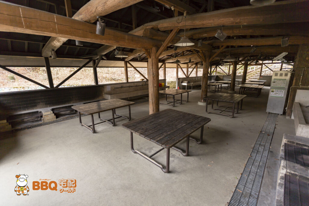 枚方市野外活動センター第2キャンプ場炊飯場