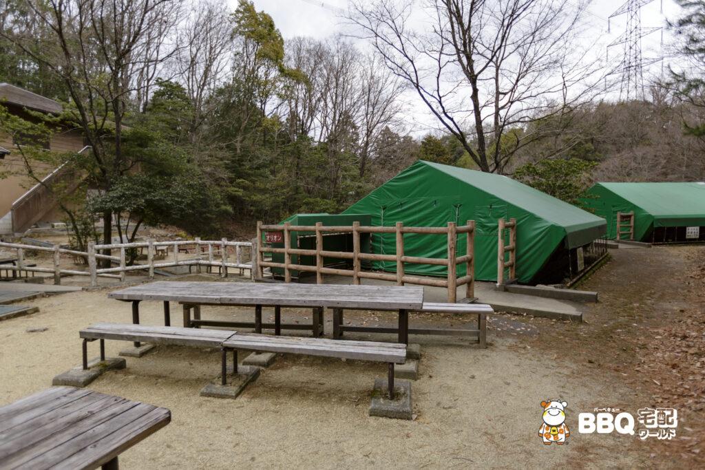 枚方市野外活動センター第2キャンプ場オリオン