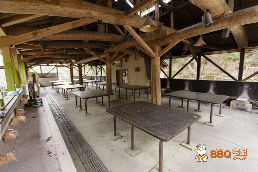 枚方市野外活動センター第3キャンプ場炊飯場