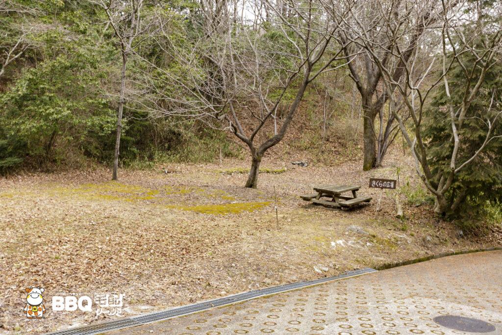 枚方市野外活動センター桜の広場