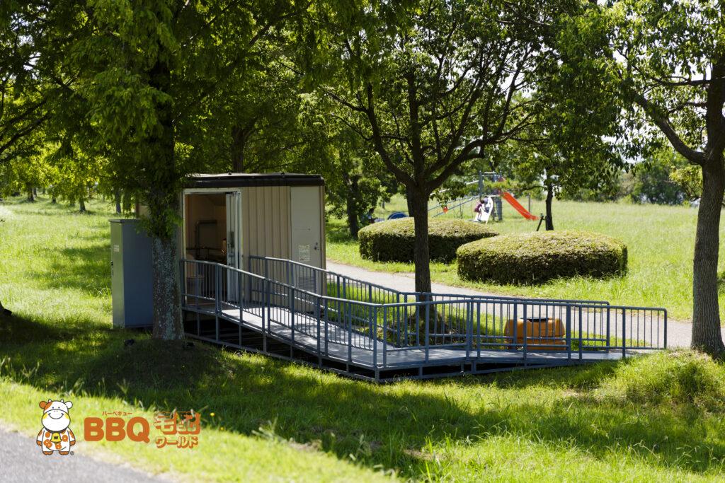 湖岸緑地木浜北のトイレ
