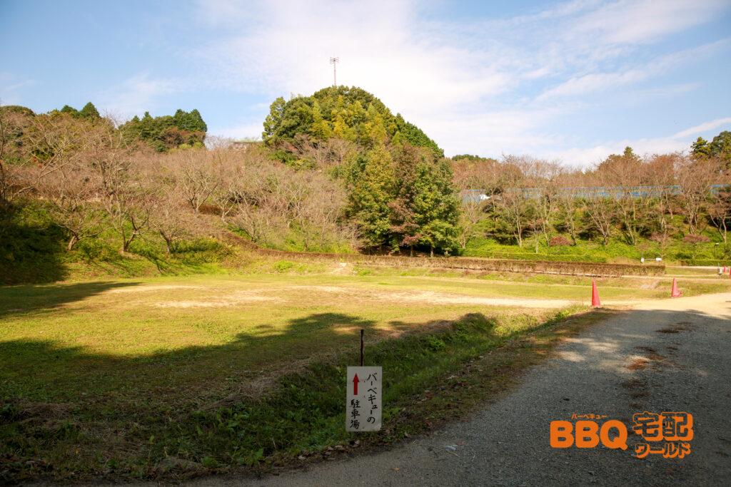 信貴山のどか村デイキャンプ場専用駐車場
