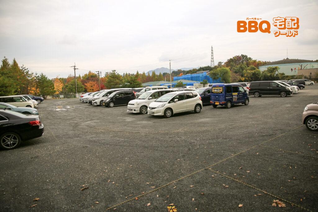 ロクハ公園の第2駐車場