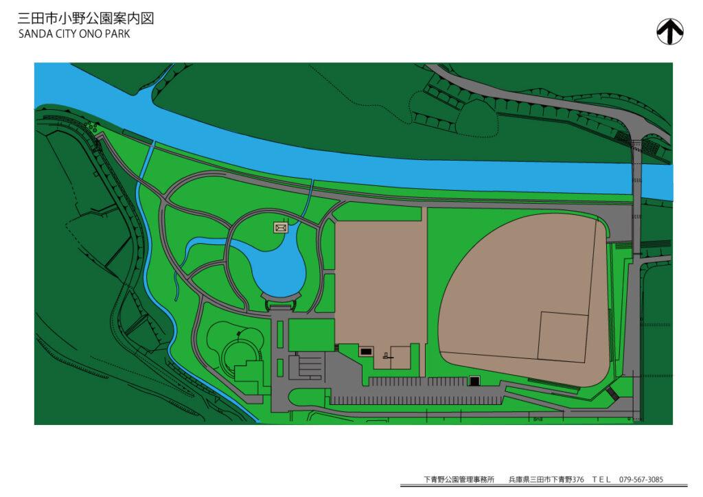 小野公園の地図