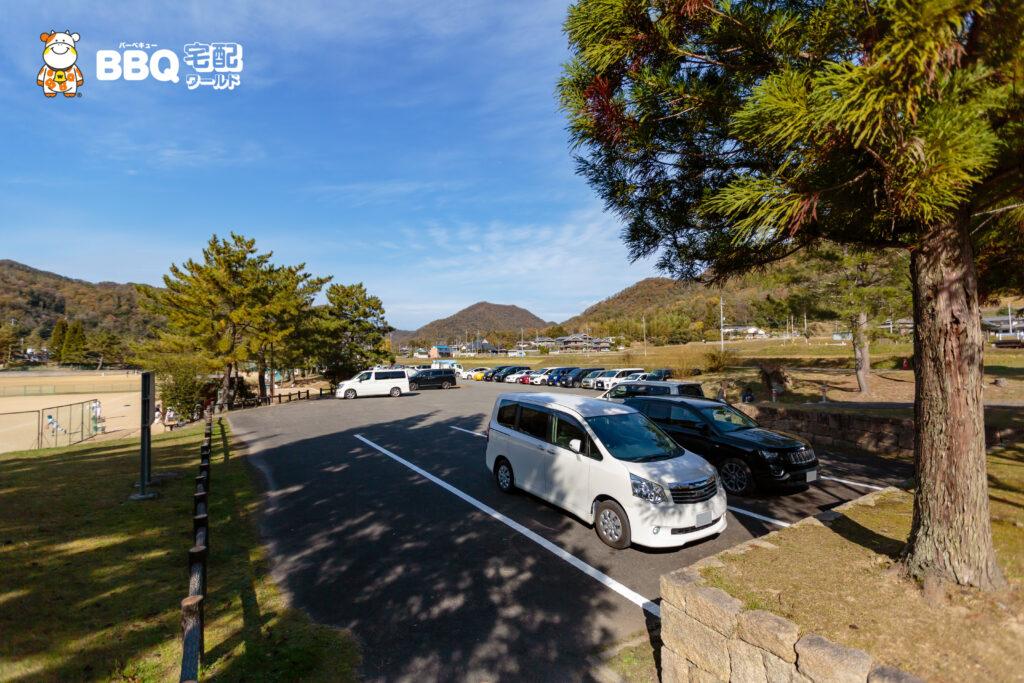小野公園の駐車場1