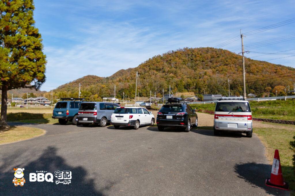 小野公園の駐車場2