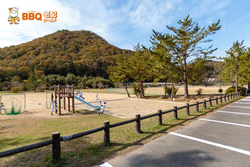 小野公園の遊具広場