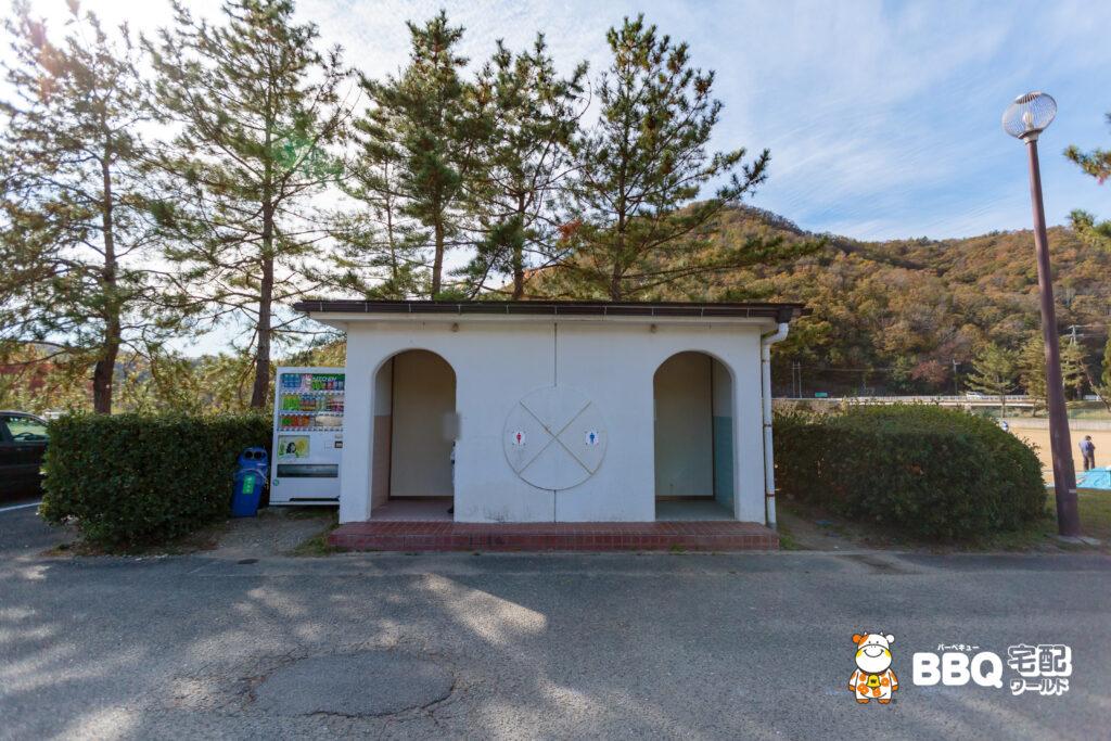 小野公園のトイレ